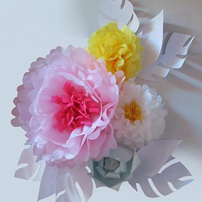 décor floral factice