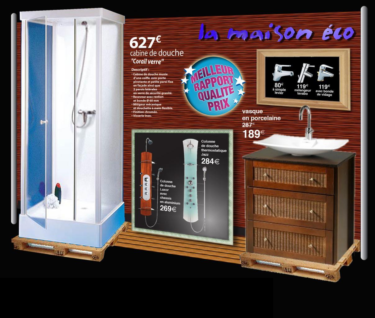 mini-stand en kit pour présence sur salons professionnels ou en tête de gondole grands magasins